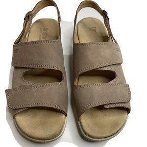 Hotter Comfort Concept EASY Brown Sandals 10